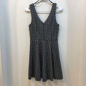 Forever 21 Black and White Dress